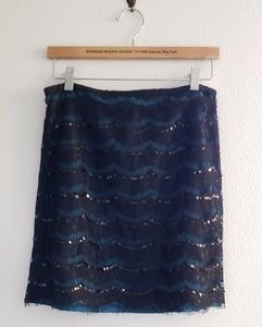 Annabella Green with Black Lace Skirt Size Medium